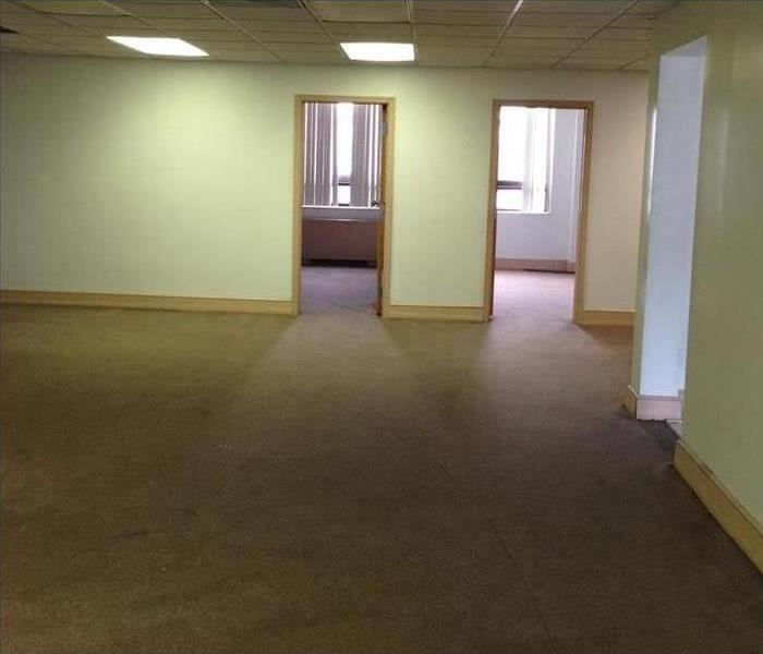 Commercial Water Damage – Tarpon Springs Office After