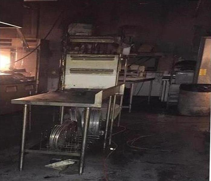 Restaurant Fire in Tarpon Springs Before