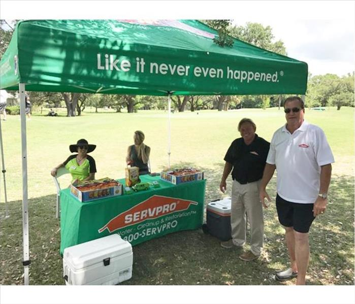 SERVPRO Participates in Golfing Event