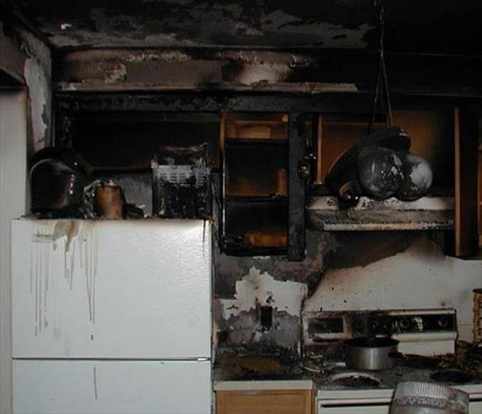 Fire-Ravaged Kitchen in Innisbrook