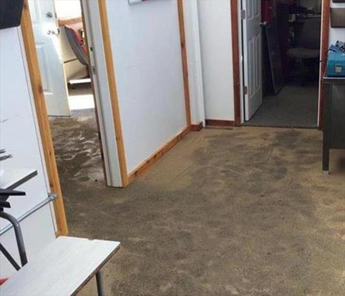 Commercial Office in Tarpon Springs and a Water Leak