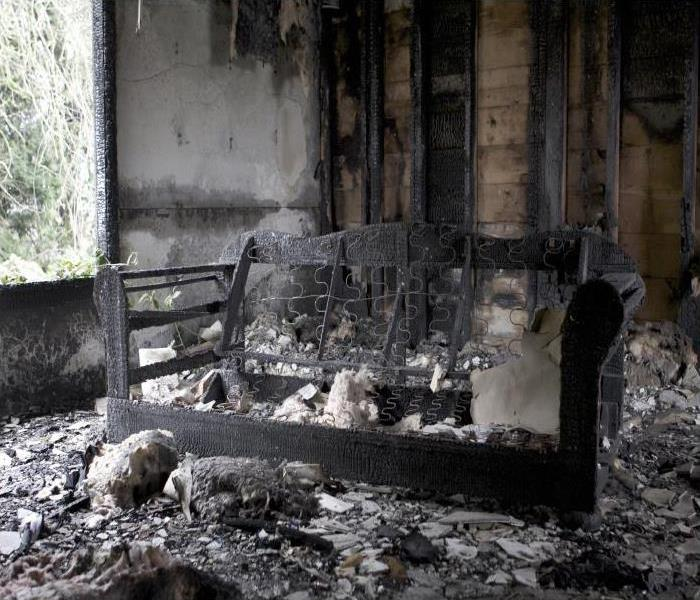 Fire Damage Our Team At SERVPRO Can Eliminate Odors After A Fire In Your East Lake Home