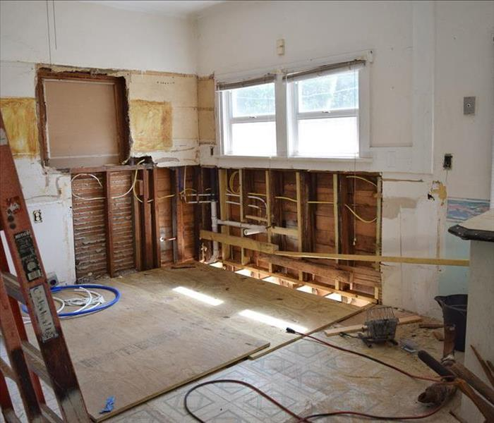 Water Damage SERVPRO - Kitchen Remodeling For Tarpon Springs Homes (after water damage)