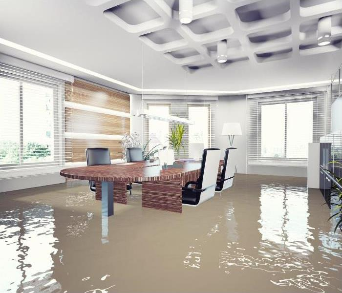 Commercial Restoring Your Office Building By Mitigating Flood Damage In Trinity